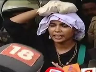 Sabarimala row Activist Rehana Fathima transferred by BSNL after protests over her failed attempt to enter Ayyappa temple