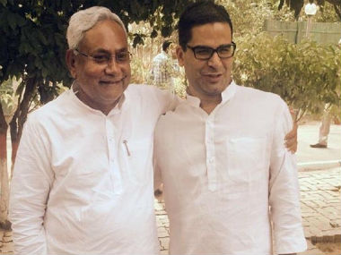 Prashant Kishor appointed JDU vicepresident KC Tyagi says move will help party reach out to various social segments