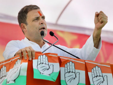 Rahul Gandhi says oneslab GST to be implemented if Congress elected at Centre claims tax has ruined small shopkeepers