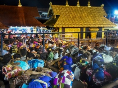Sabarimala temple row Security beefed up amid reports about women of menstruating age planning to enter shrine