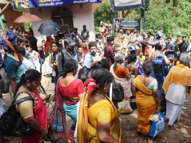 Sabarimala protests Dalit woman puts off plan to visit Ayyappa temple as heavy rains agitations mar trek to shrine