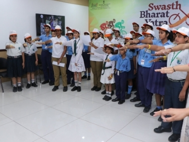 World Food Day Centre launches Swasth Bharat Yatra to raise awareness about eating right