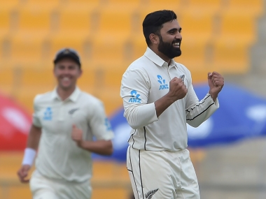 Ajaz Patel is among the four spinners picked by New Zealand. AFP