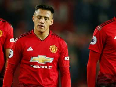 Premier League Manchester United forward Alexis Sanchez out for two months with knee ligament injury claim reports