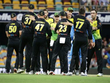 Australia took a 1-0 lead in the three-match series after beating India by four runs in the first T20I. AP
