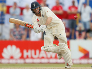 Ben Foakes was unbeaten on 87 at stumps on Day 1. Reuters