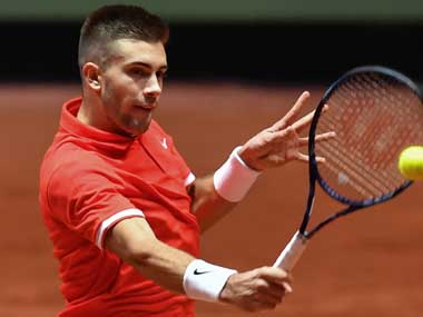 Davis Cup Final Borna Coric gets Croatia off to positive start against France by beating Jeremy Chardy in straight sets