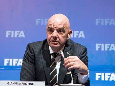 FIFA chief Gianni Infantino IAAF head Sebastian Coe omitted from IOCs executive board 10 new candidates proposed