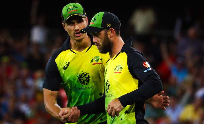 Glenn Maxwell impressed with the ball at Sydney, giving away just 25 in four overs. AFP