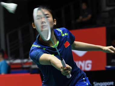 Syed Modi International 2018 Saina Nehwal a tougher opponent than Li Xuerui says Han Yue after winning maiden title