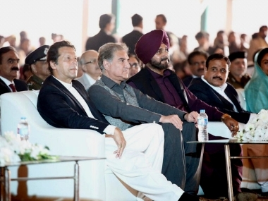 Loved in Pakistan hated in India Navjot Sidhus latest Kartarpur moment aimed at attracting Punjabs electorate