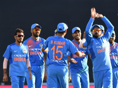 India enter the T20I series as the favourites, given the balance in their ranks as well as current form. AFP