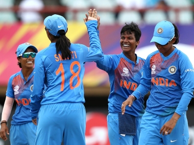 India secured place in final four of the Women's World T20 with three consecutive wins in group stage. ICC