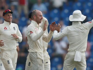 Jack Leach registered his maiden Test five-for in only his second appearance. Reuters