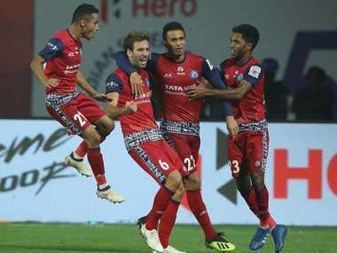 ISL 201819 Cesar Ferrandos Jamshedpur FC climb to third with comprehensive victory against Chennaiyin FC