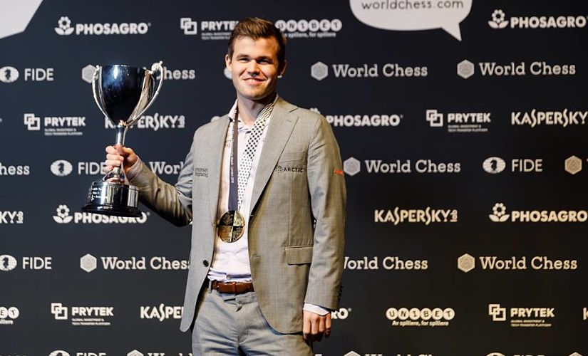 World Chess Championship Magnus Carlsen dominates Fabiano Caruana in tiebreakers to defend title for third time