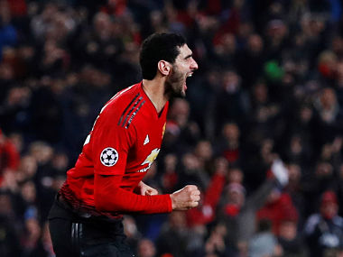 Champions League Marouane Fellaini says Manchester United players are upbeat despite recent struggles