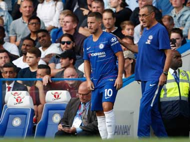 Premier League Chelsea Football Club manager Maurizio Sarri certain star player Eden Hazard will sign contract extension