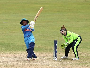 Mithali Raj anchored the innings with