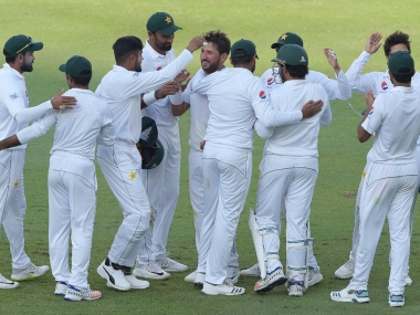 Pakistan levelled the three match series with winning the second Test in Dubai. AFP