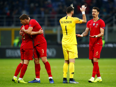 UEFA Nations League Cristiano Ronaldoless Portugal qualify for semifinals after holding Italy to goalless draw in San Siro