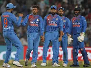 File picture of members of Indian team. BCCI