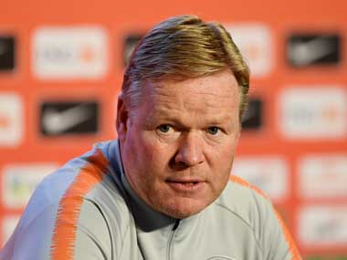Champions League Netherlands Ronald Koeman hopes Liverpools Dutch duo Virgil van Dijk Georginio Wijnaldum win title