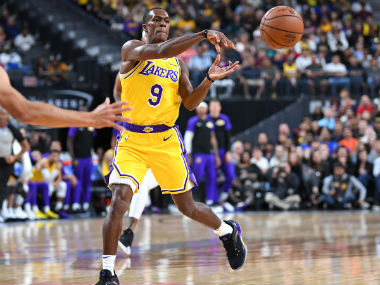 NBA Lakers guard Rajon Rondo cleared by team medical staff to resume training LeBron James to return next week