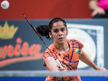 National Championships Saina Nehwal refuses to play on poor playing surface BAI to get courts fixed for evening session