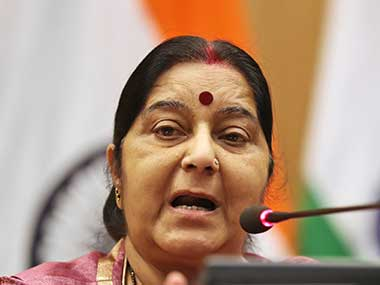 Sushma Swaraj says over two lakh stranded NRIs were brought back to India since 2014
