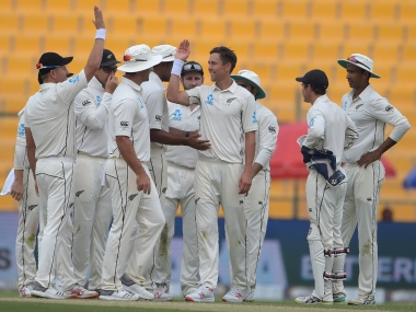 New Zealand pacer Trent Boult took 4/54 in the first innings.