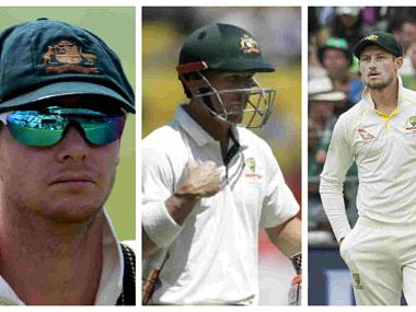 Australian trio of Steve Smith, David Warner and Cameron Bancroft were caught cheating during the Cape Town Test early this year. Agencies