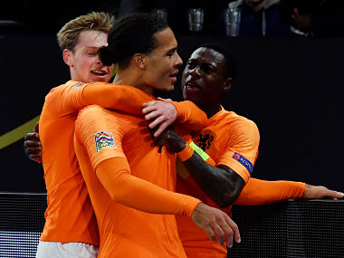 UEFA Nations League Netherlands captain Virgil van Dijk proud of team after Germany draw seals semifinal spot