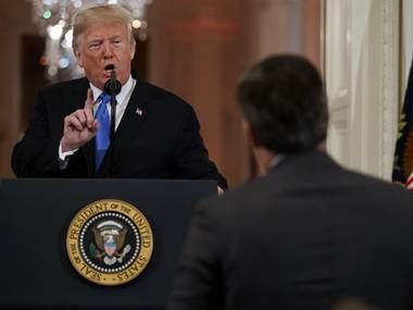 CNN Jim Acosta win Round One against Donald Trump but the fight is just beginning White House to release new rules for media