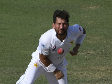 Yasir Shah has another three Tests to break Clarrie Grimmett's record for fastest bowler to 200 Test wickets. AP