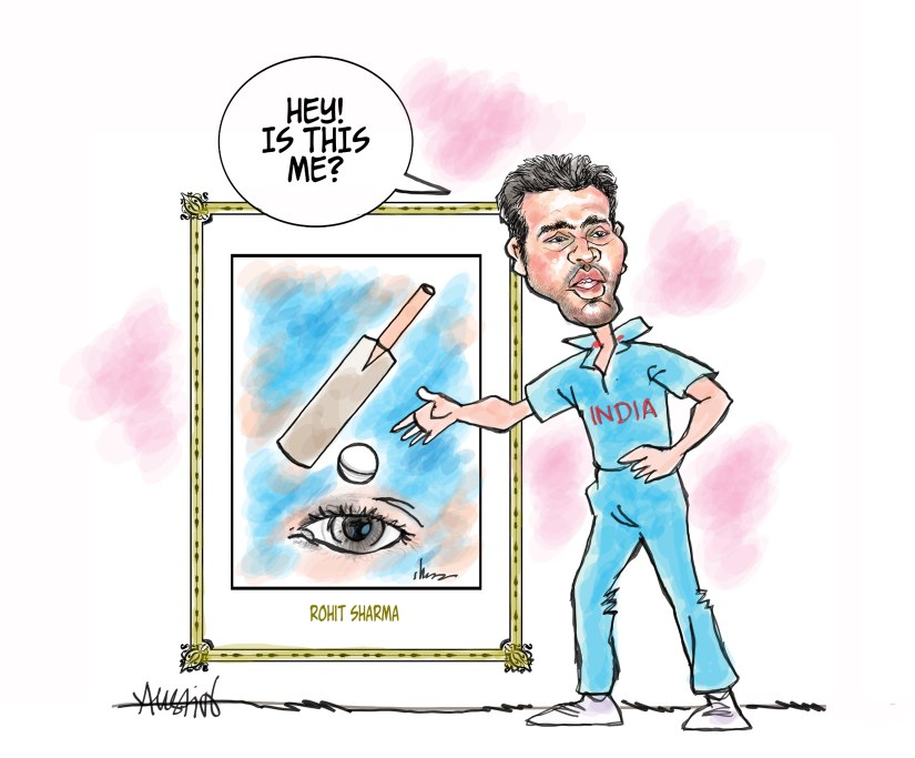 Modern art or modern, T20 cricket; it's time we made an effort to know its inner meaning. Illustration courtesy Austin Coutinho