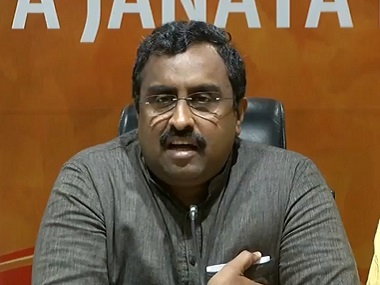 Ram Madhav hails abrogation of Article 370 says Narendra Modi ended 72 years of agony in 72 hours