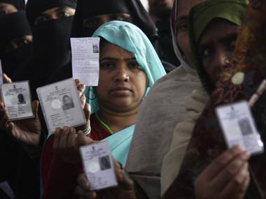 Voting in Jind bypolls underway 25 voter turnout recorded in first few hours BJP Congress INLD JJP candidates in fray
