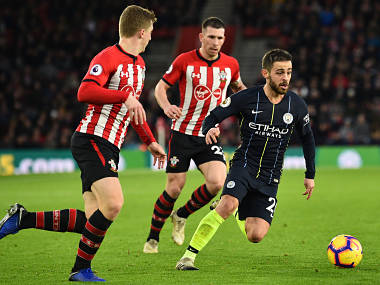 Premier League Manchester City stop the rot with comfortable win against Southampton Chelsea edge past Crystal Palace