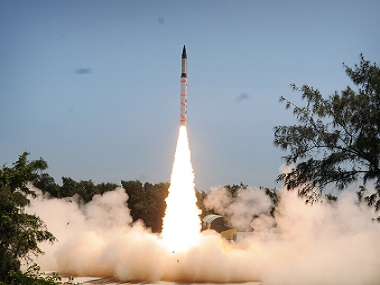 First Night trial of surfacetosurface mediumrange missile AgniII conducted successfully Nuclearcapable missile launched off Odisha coast