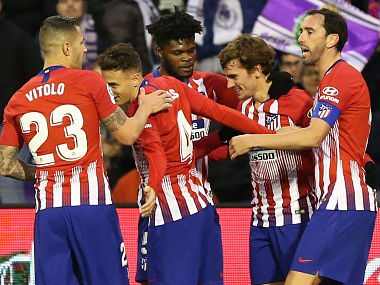 La Liga Antoine Griezmannled Atletico Madrid go level with Barcelona Karim Benzema helps Real beat Rayo Vallecano