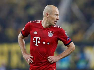 Bundesliga Departing Bayern Munich star Arjen Robben undecided about future says retirement an option