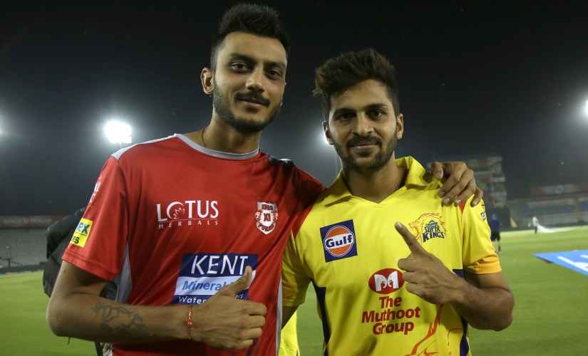 Axar Patel's utility as an all-rounder could make him a popular choice at IPL auction. Sportzpics
