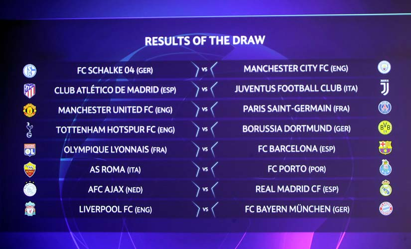 UEFA Champions League Draw Liverpool set to take on German giants Bayern United face PSG in firstever meeting