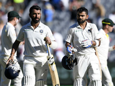 Cheteshwar Pujara and Virat Kohli are currently on top of the run charts in the ongoing Test series. AP