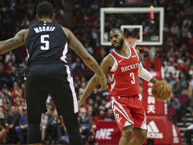 NBA Houston Rockets point guard Chris Paul set to miss two weeks with hamstring strain