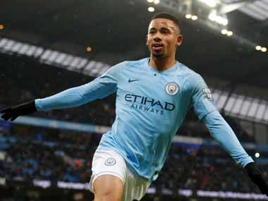 Premier League Gabriel Jesus bags brace as City beat Everton Christian Eriksen rescues three points for Spurs with late winner