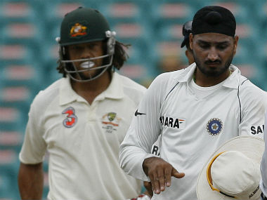 Andrew Symonds had accused Harbhajan Singh of calling him a monkey during the infamous Sydney Test in the 2007-08 tour. AFP