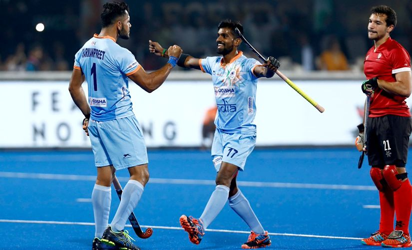 Hockey World Cup 2018 Indian attackers show ability to turn the game around in 51 hammering of Canada