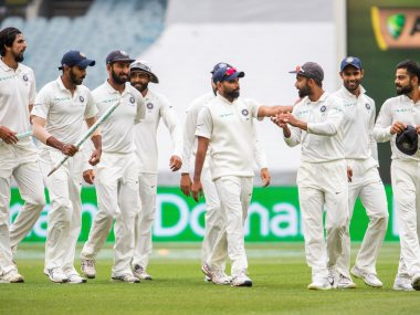 Virat Kohli and Co went 2-1 up in the series with a win at Melbourne. AP